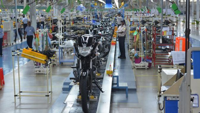 Produksi Sepeda Motor Januari-Oktober Tembus 6,2 Juta Unit