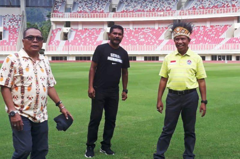 Tinjau kesiapan PON 2020, Menpora sambangi Stadion Papua Bangkit