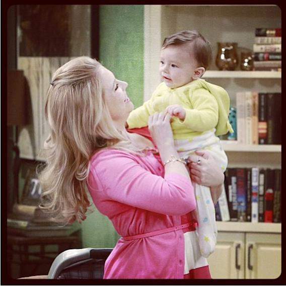 My little bundle of trouble @tuckerwilk (twitter name) on tonights' episode of #melissaandjoey! #comedy #funny #fun #hilarious #baby #picoftheday #awwdorable