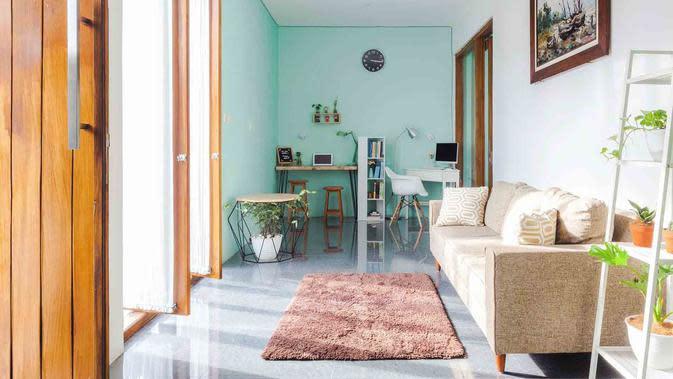 Desain interior ruang tamu rumah mungil karya Ruangan Asa. (dok. Ruangan Asa/Arsitag)