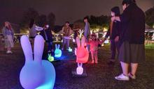 台北跨年系列活動啟動 大湖公園藝術燈飾吸睛 (圖)