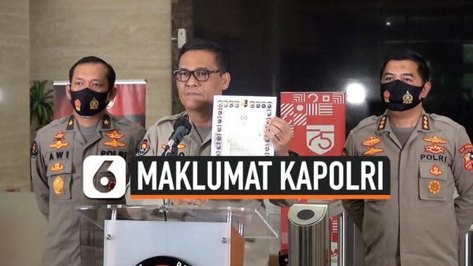 VIDEO: Cegah Penularan Covid-19 di Masa Pilkada, Kapolri Keluarkan Maklumat Pengamanan Kampanye