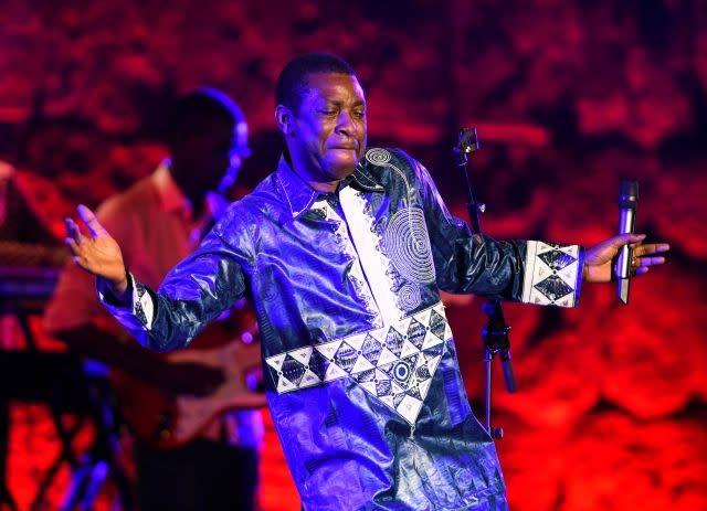 Galaxy of African stars hold virtual coronavirus concert