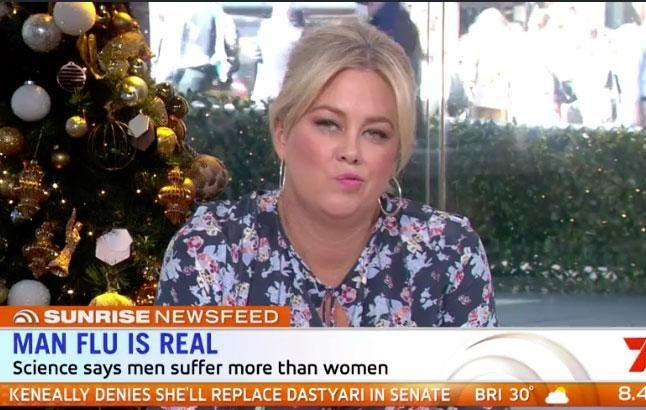 Co-host Samantha Armytage was far from impressed. Source: Channel Seven