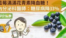 藍莓滿滿花青素降血糖!內分泌科醫師:糖尿病降33%
