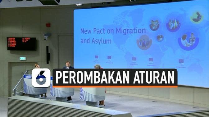 VIDEO: Uni Eropa Rombak Aturan untuk Para Imigran, Kenapa?