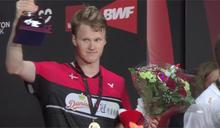 羽球復賽首戰丹麥公開賽 地主安童森奪冠