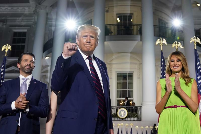 APTOPIX Election 2020 RNC Trump