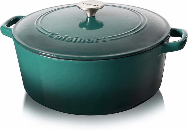 Cuisinart Cast Iron 7-Quart Casserole. (Photo: Amazon)