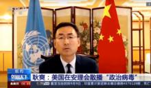 安理會中美交鋒! 美控中國要對全球疫情負責 耿爽 : 你才傳播政治病毒