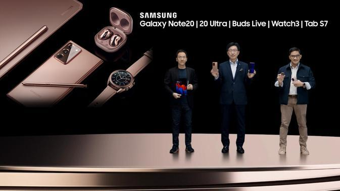 Peluncuran online Galaxy Note 20 series (Foto: Samsung Indonesia)