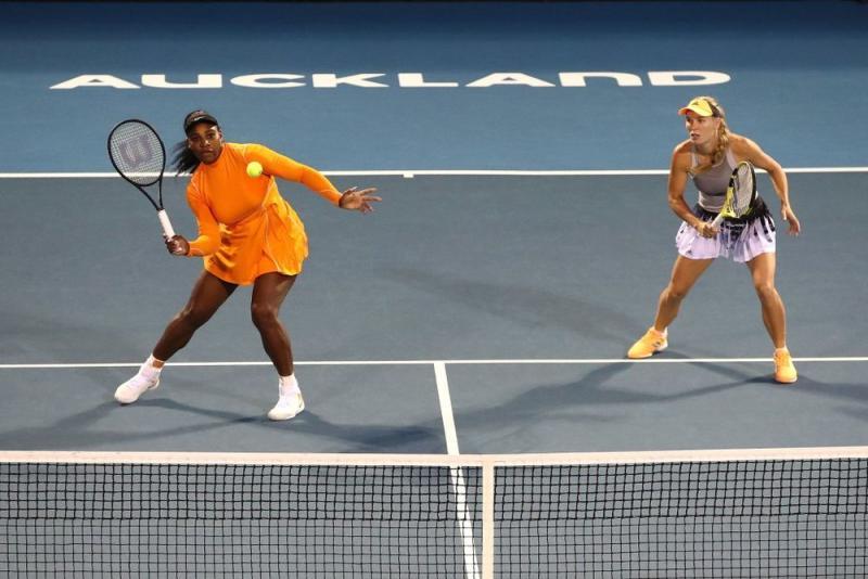 Serena Williams and Caroline Wozniacki | Phil Walter/Getty Images
