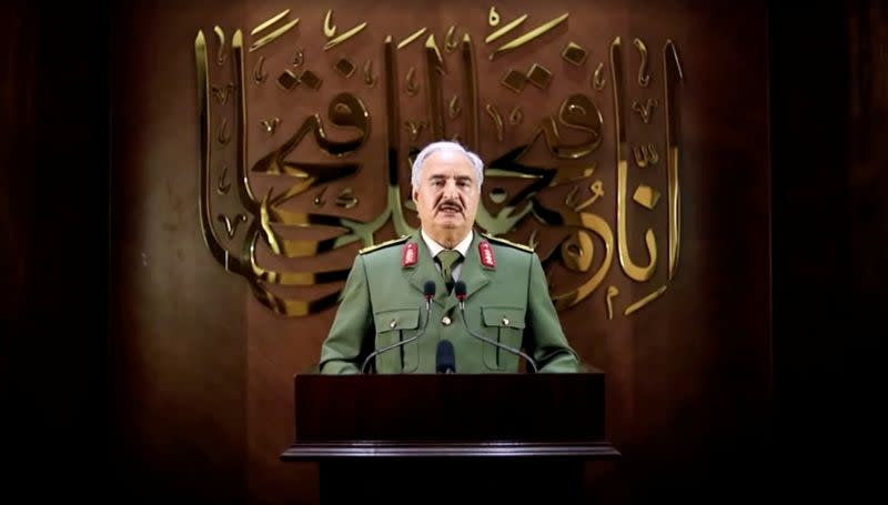 Turkey threatens to target Haftar's forces in Libya if attacks persist