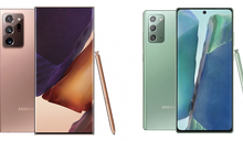 Galaxy Unpacked線上發表會登場!三星發表Note 20系列新機的5大亮點