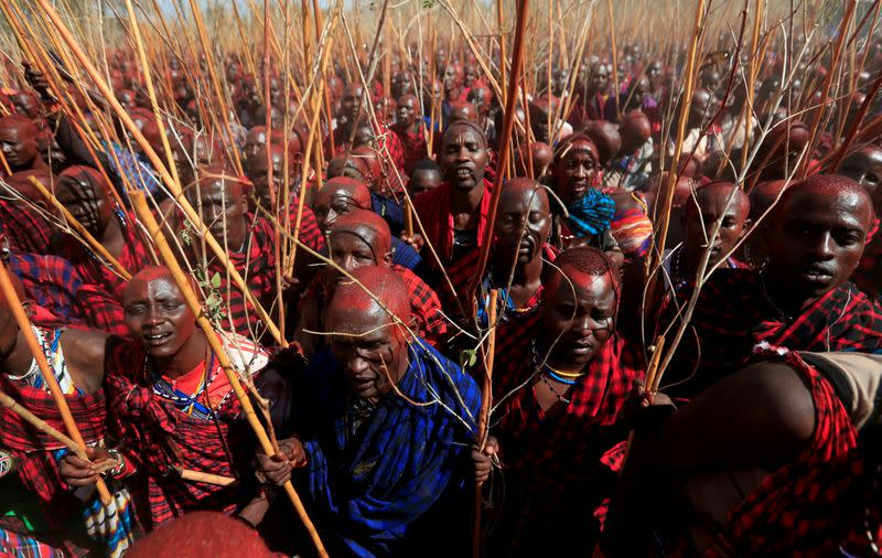 Kenya's Maasai gather for once-in-a-decade ceremony to turn warriors into elders