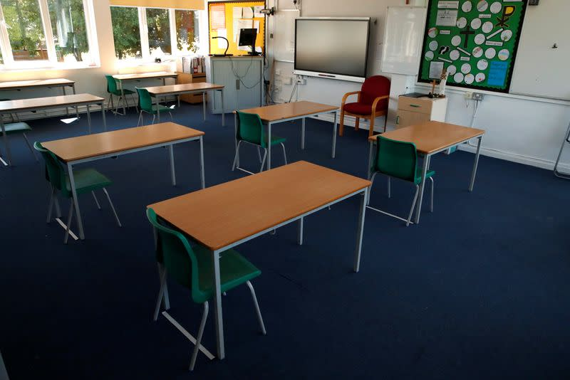 England's schools to get extra funds to help pupils catch up after lockdown