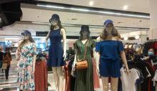 馬尼拉疫情嚴峻 商場模特兒也戴面罩 (圖)