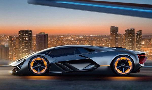 LAMBORGHINI電動超跑出爐,攜手麻省理工學院打造電動概念車 Terzo Millennio發表
