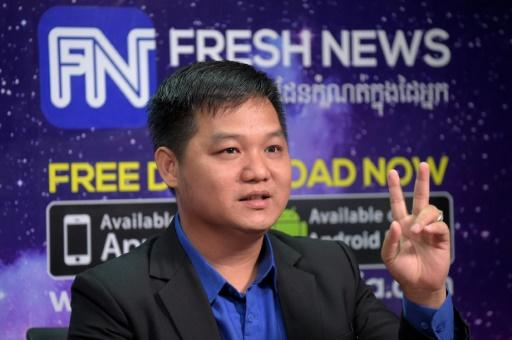 Lim Chea Vutha of 'Fresh News' says he would embrace assistance from Beijing