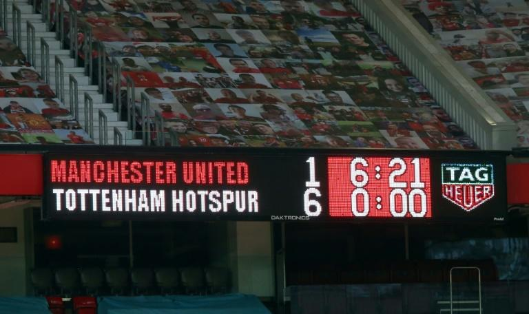 Mourinho basks in 'history' of hitting Man Utd for six