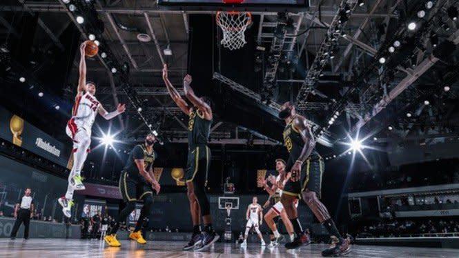 Final NBA: Lakers Menang di Laga Kedua, LeBron James Gemilang