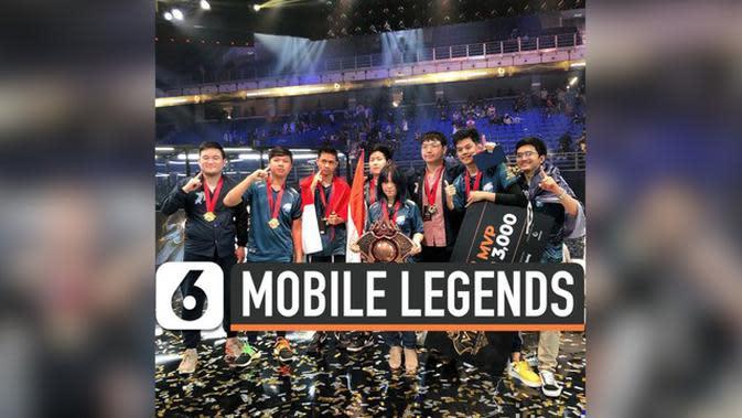 VIDEO: Indonesia Juara Dunia Kejuaraan Mobile Legends