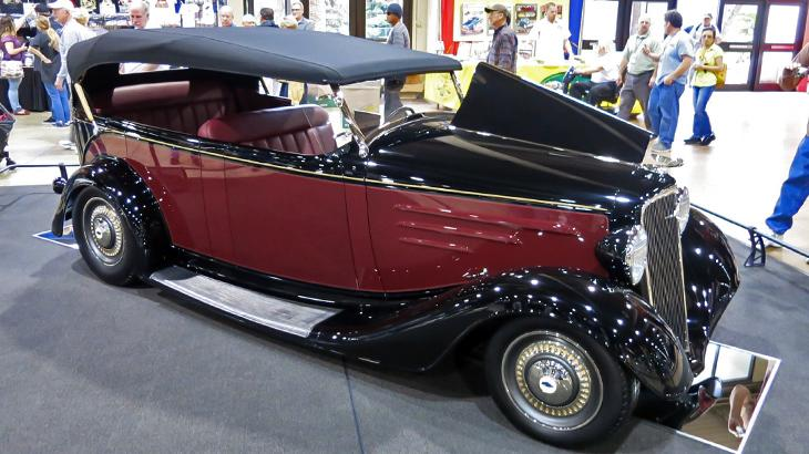 "Hod rod enthusiasts crown ""America's Most Beautiful Roadster"""