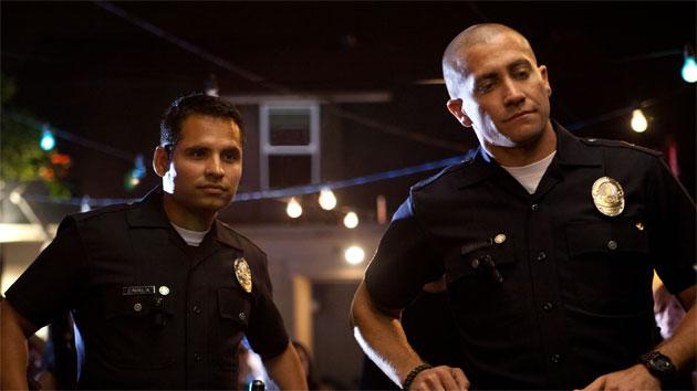 Jake Gyllenhaal and Michael Pena Are True Blue in Cop Drama 'End of Watch'
