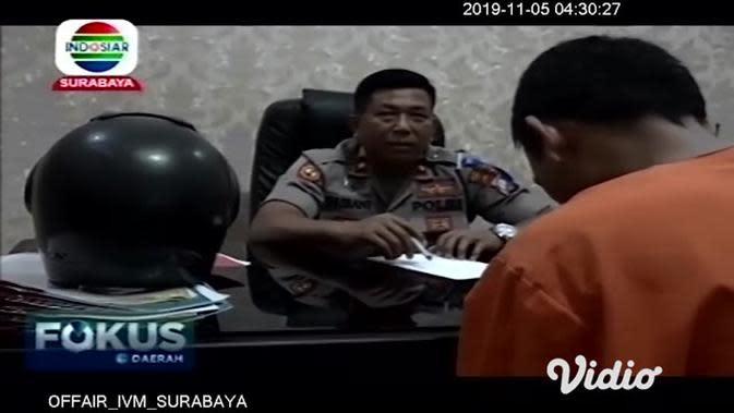VIDEO: Pemuda Rampas Motor Ojek Online di Sidoarjo Nyaris Dihakimi Massa