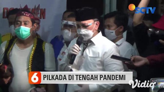 VIDEO: Begini Suasana saat Pendaftaran Bacawali Surabaya ke KPU