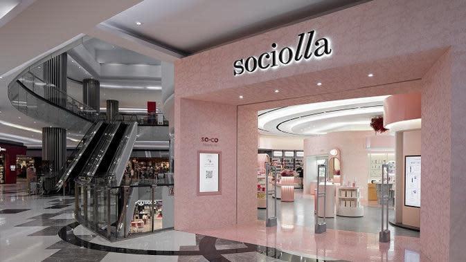 Sociolla Store yang ada di Lippo Mall Puri (Dok. Social Bella)