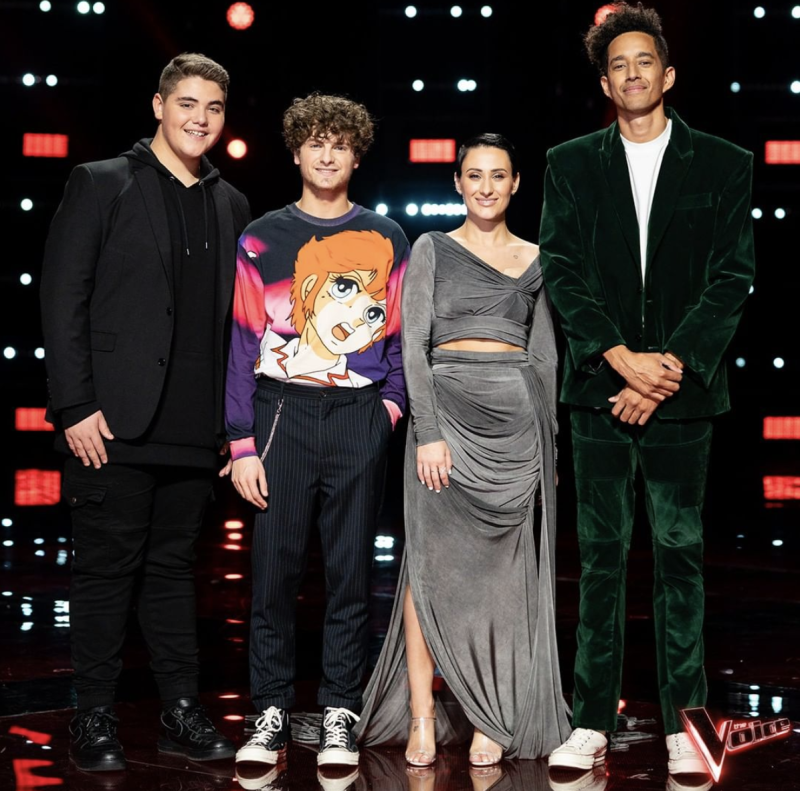 Fans of The Voice up in arms over Diana Rouvas'