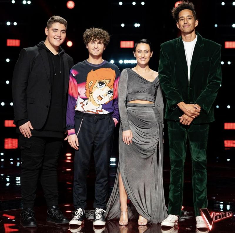 Greek Australian Diana Rouvas wins The Voice Australia 2019