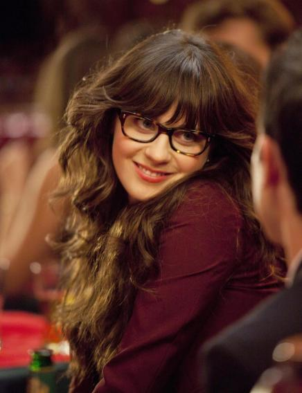 "Lead Actress in a Comedy Series: Zooey Deschanel, ""New Girl"""