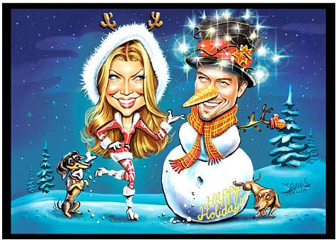 See Fergie and Josh Duhamel's Adorable Christmas Card!