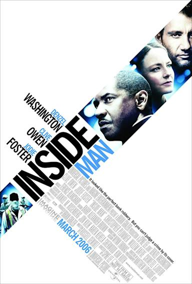 Denzel Washington Movie Titles - Inside Man