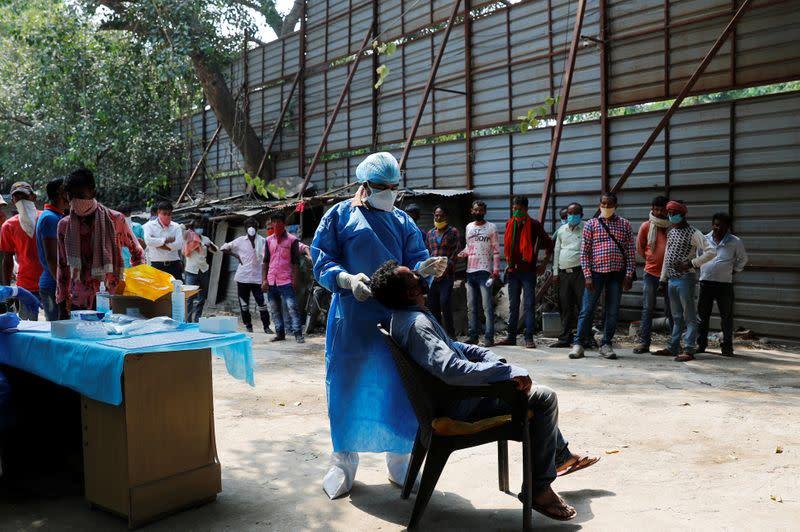 India's coronavirus infections surge to 5.4 million