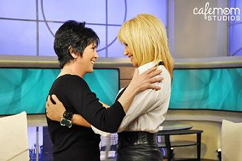Exclusive Video: Suzanne Somers Reunites With Her 'Three's Company' Co-Star Joyce DeWitt