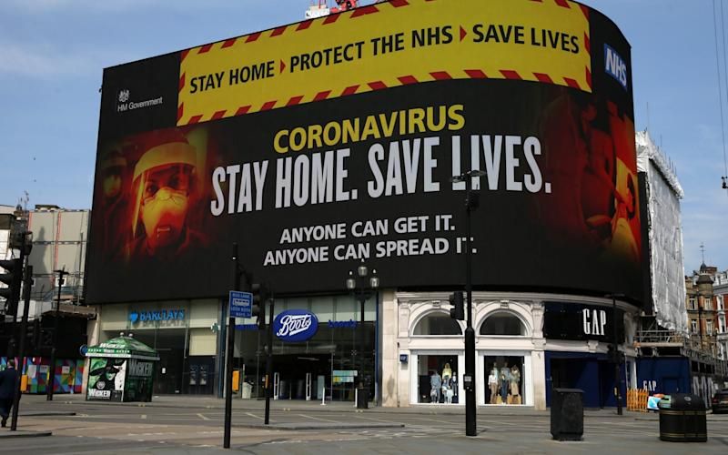 During lockdown, the Government urged the public to 'Stay Home, Protect the NHS, Save Lives'