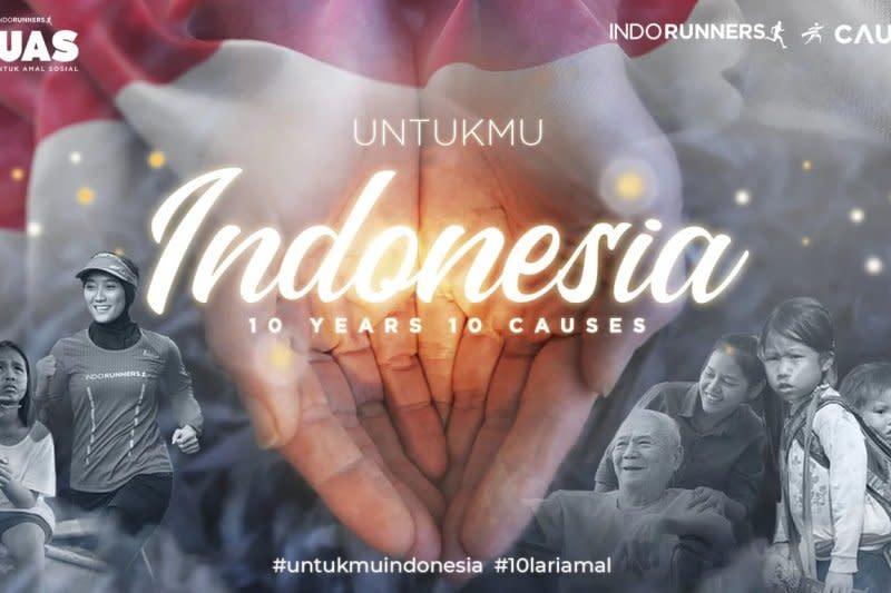 IndoRunners ajak masyarakat lari 200 ribu km untuk amal