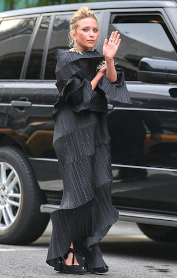 Mary-Kate Olsen attends the 2013 CFDA Fashion Awards in New York City