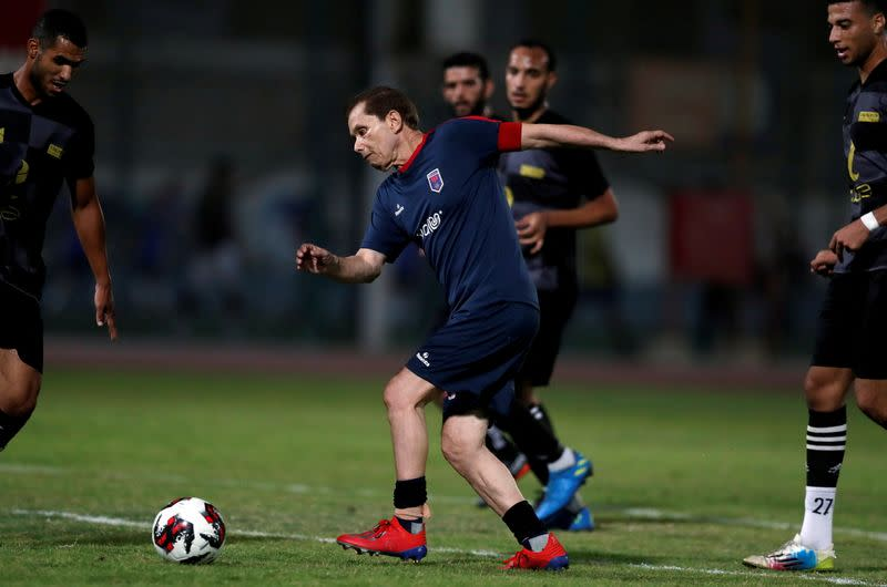 Egyptian grandfather becomes world's oldest soccer pro