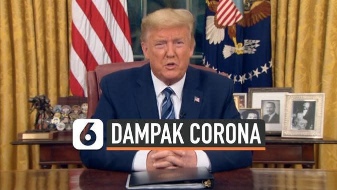 VIDEO: Trump Larang Pendatang Eropa Masuk ke AS