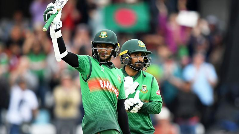 Shakib Al Hasan is the World Cup's top run-scorer.