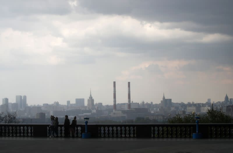 Moscow reports 18% more deaths in April than same month last year
