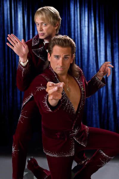 Abracadabra! Steve Carell and Jim Carrey work their comedic magic in 'The Incredible Burt Wonderstone' trailer