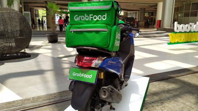 Layanan GrabFood di Indonesia yang terus tumbuh (Liputan6.com/Agustinus M.Damar)