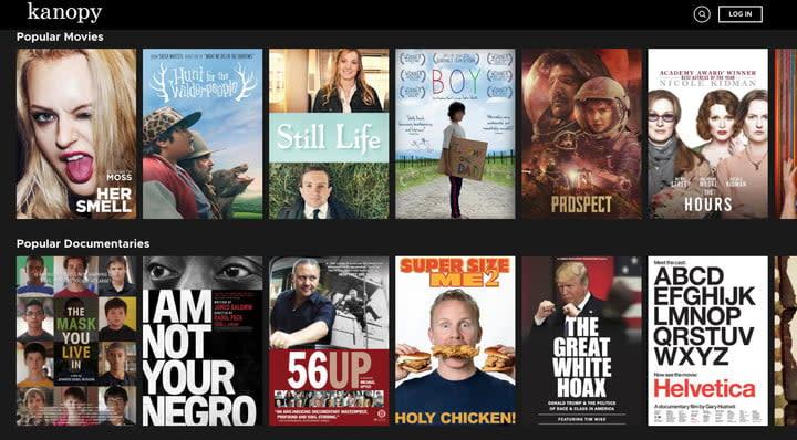 Kanopy Free Movie Library