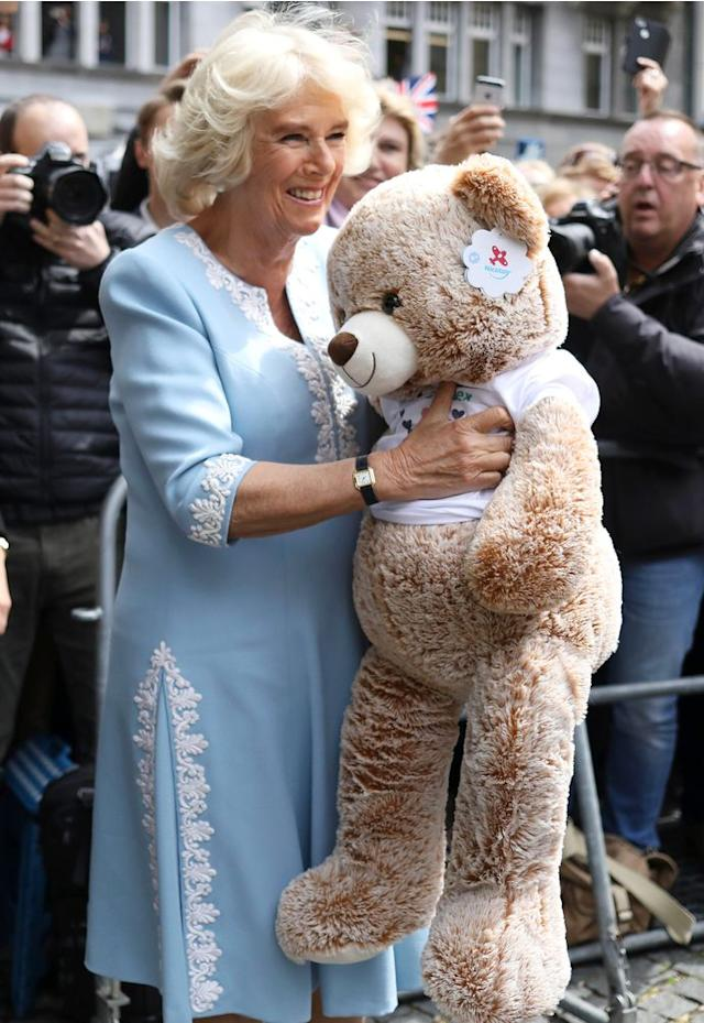 Camilla, Duchess of Cornwall | Press Association via AP