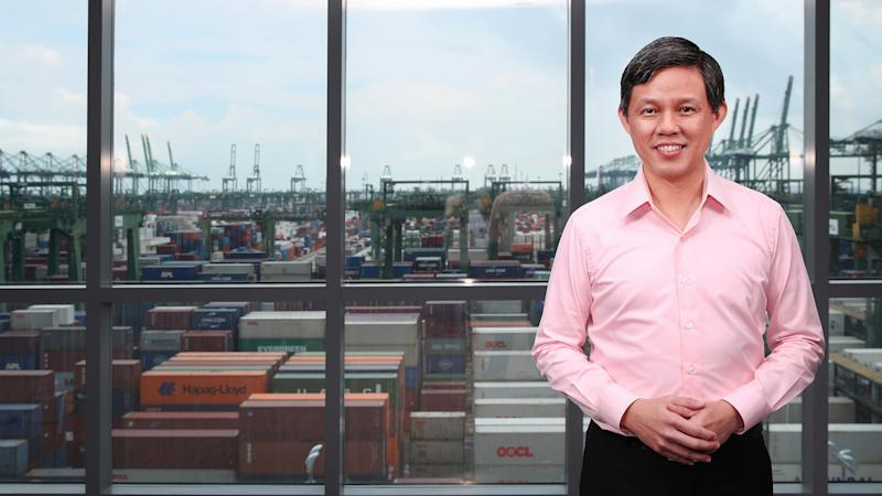Minister for Trade and Industry Chan Chun Sing (Photo: Ministry of Communications and Information (MCI))